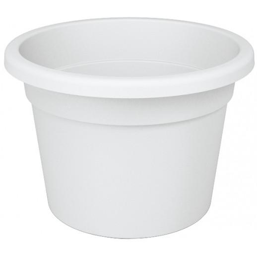 Nicoli vazonas Premium 35 baltos spalvos