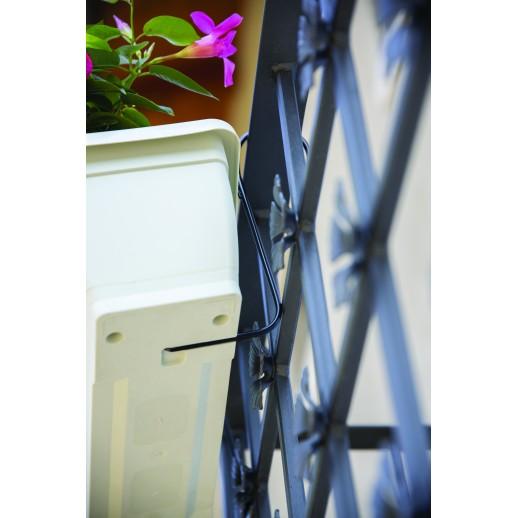 Nicoli pakabinamas lovelis su lėkštele Primavera Plus 60, rudos spalvos