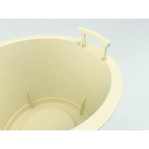 Nicoli vazonas su išimamu konteineriu Style 36, pilkos spalvos