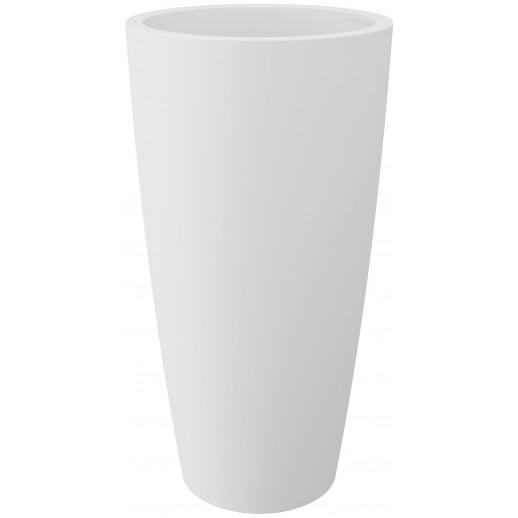 Nicoli vazonas su išimamu konteineriu Style 36, baltos spalvos