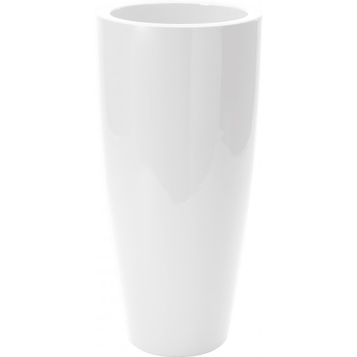 Nicoli vazonas Talos Gloss 43 baltos spalvos