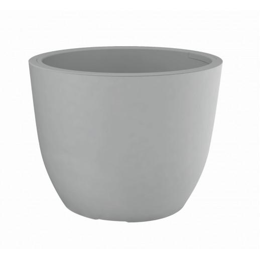 Nicoli vazonas su išimamu konteineriu Conca Style 38, pilkos spalvos