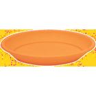 Marchioro lėkštelė Petra 34 oranžinės spalvos